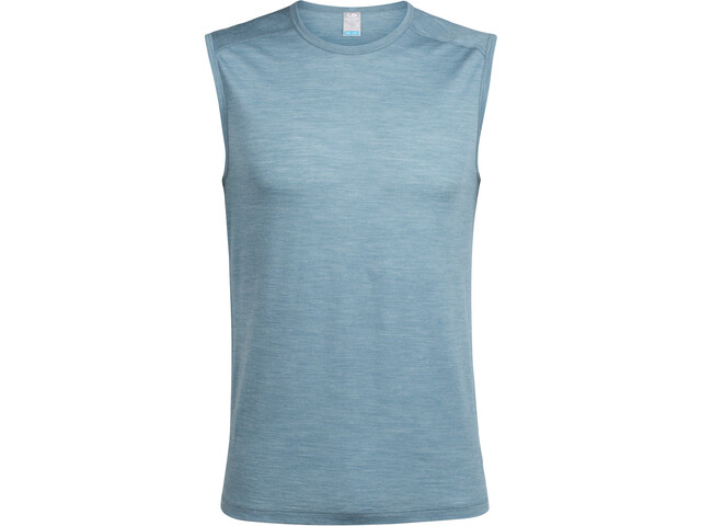Icebreaker Sphere Mouwloos Shirt Heren blauw